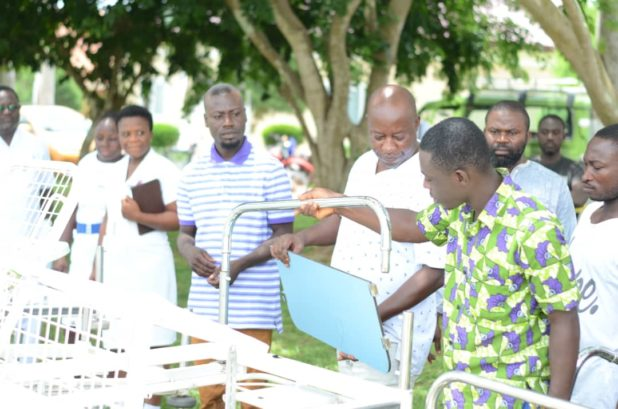 NSA in Collaboration with Asadu Waste Management donate to