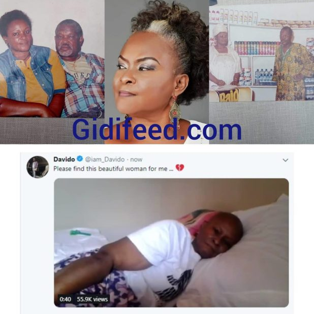 Video: If Davido sings by my bed, my cancer will die – Dying woman's