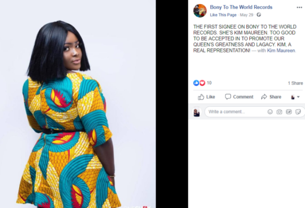 Photos: Check out first musician signed onto Ebony's
